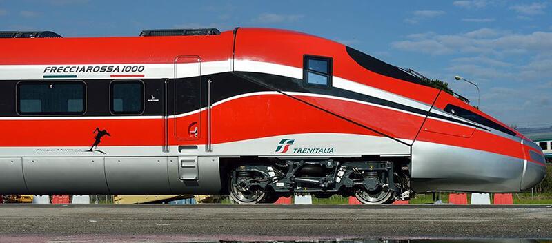 Modelos de trem na Itália
