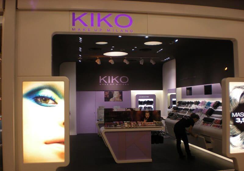 Loja de maquiagem Kiko em Roma