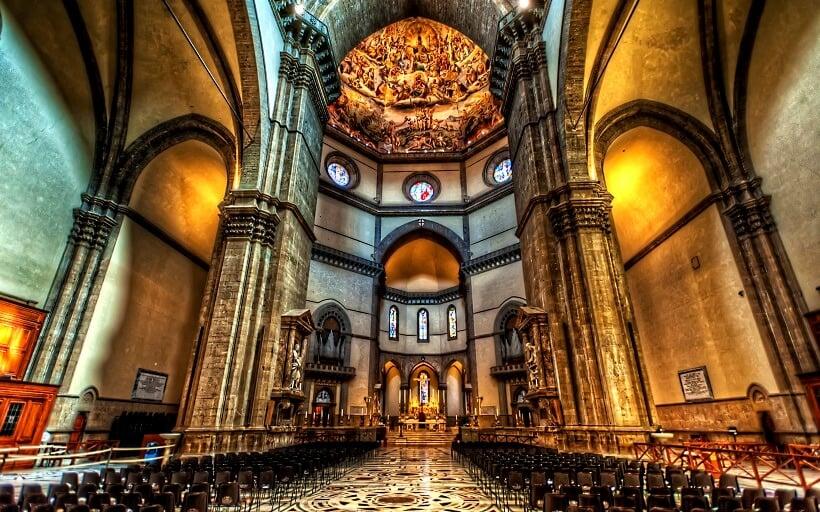 Interior da Basilica di Santa Maria del Fiore