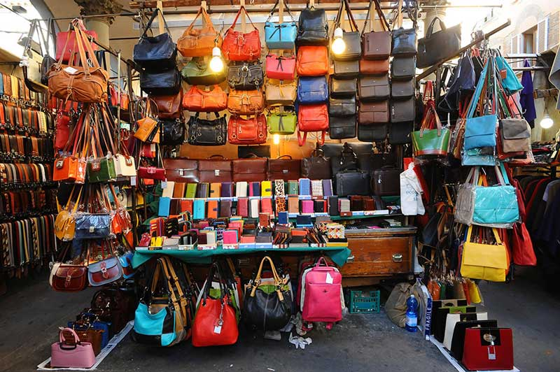 Mercato della Paglia para compras em Florença
