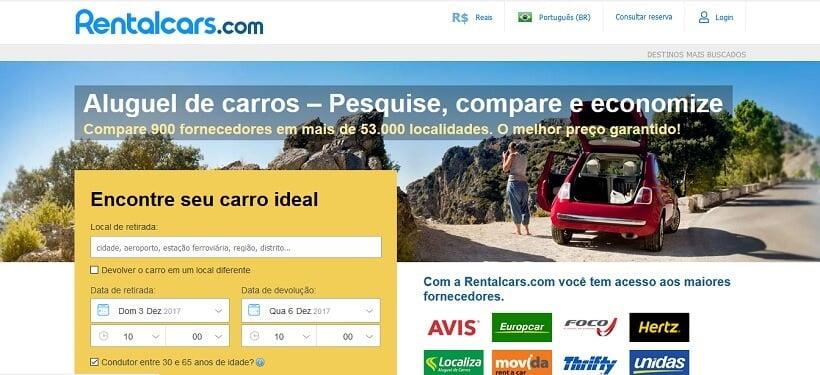 Comparador de aluguel de carro em Florença