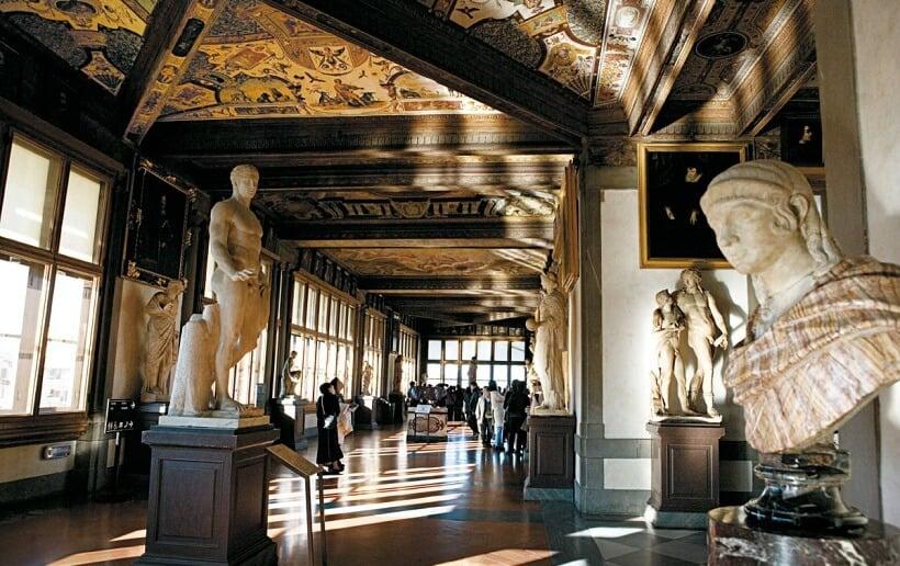Tour pela Galeria Uffizi em Florença