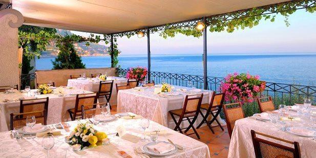 Melhores restaurantes em Positano