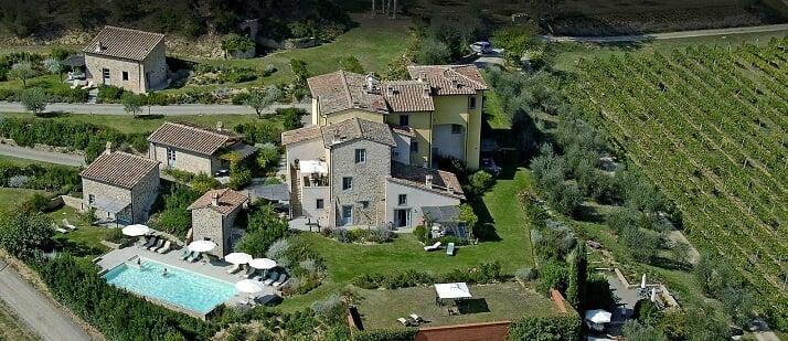 Vinícola Sovestro in Poggio na Toscana