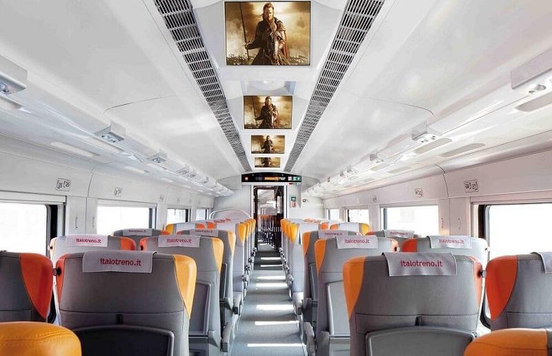 Estrutura dos trens na Itália