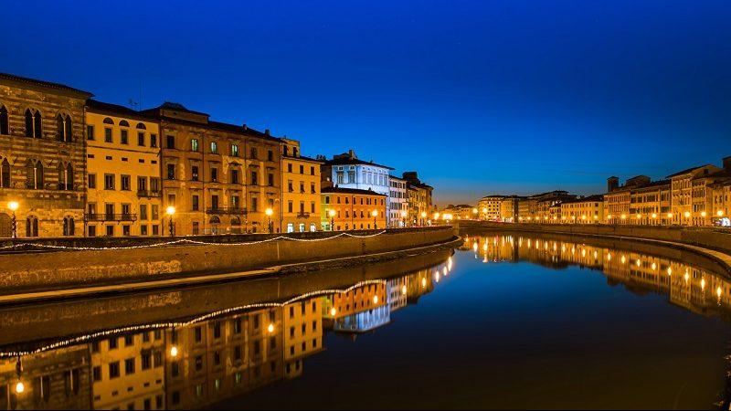 Meses de alta e baixa temporada em Pisa